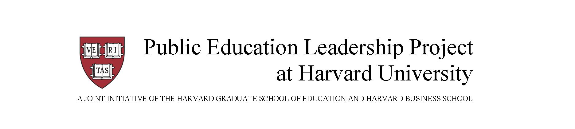 Public Education Leadership Project